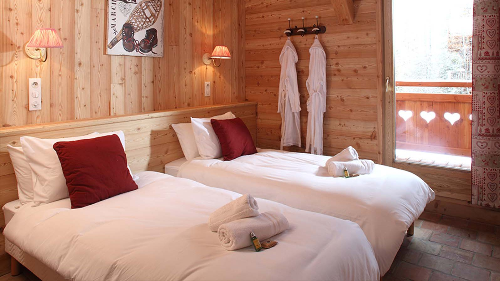 Chalet Klosters bedroom