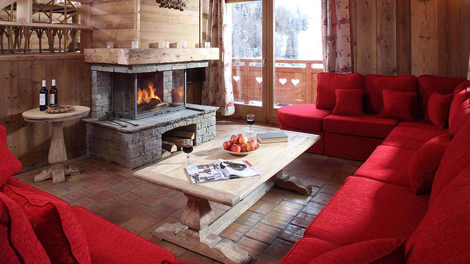 Chalet Klosters living room 1